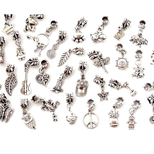Set Da 20 Perline Tibetane Placcate In Argento Per Bracciale [version:x6.8] by DELIAWINTERFEL