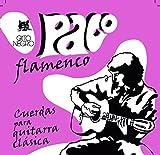 Juego de cuerdas para guitarra flamenca Gato Negro Paco