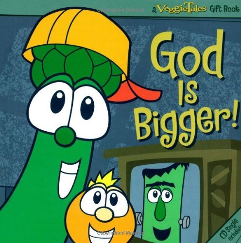 God Is Bigger! [With CD] (Veggie Tales Gift Book) by Phil Vischer (1-Aug-2007) Hardcover