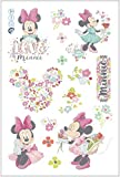 Disney Minnie Maus Blumen Laptop Aufkleber/Wandtattoo