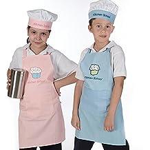 Delantal y gorro de cocina infantil