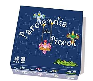 CreativaMente 002-Juego de Mesa Parolandia dei Piccoli (versión Italiana)
