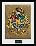HARRY POTTER GB Eye LTD, Hogwarts, Affiche encadrée 40 x 30 cm