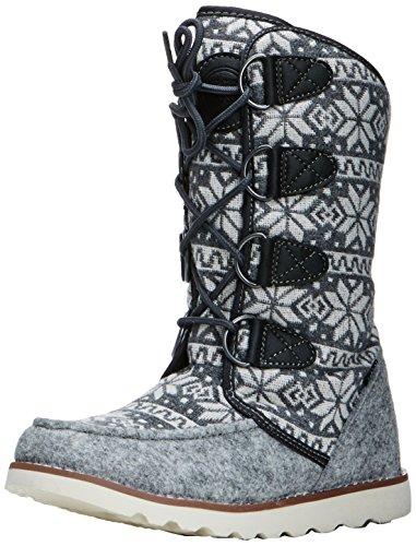 Hi-Tec Thomas 200 I, Chaussures de randonnée femme Gris (Charcoal/Snow Flake)