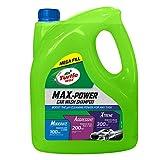 Turtle Wax 53284 M.A.X. Power Car Wash Champú para el Cuidado del Coche Elimina la Cera del Coche 4L