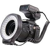 König KN-RL60 Projecteur annulaire pour Studio 60 LED Noir