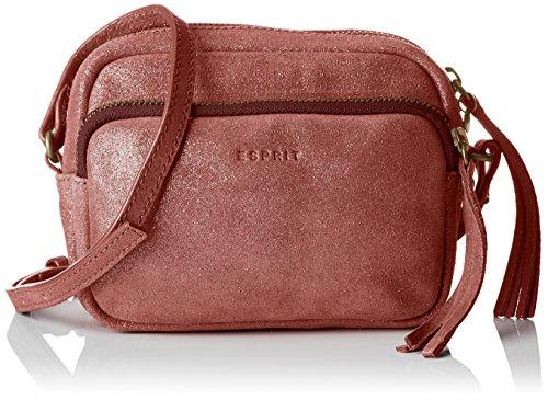 ESPRIT - 087ea1o061, Borse a spalla Donna Rosso (Dark Red)
