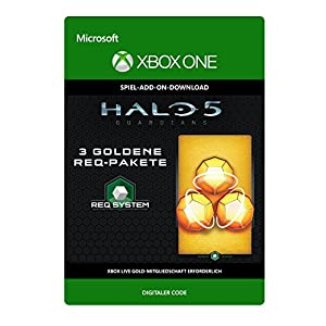 Halo 5: Guardians: 3 Gold REQ Packs [Spielerweiterung] [Xbox One – Download Code]
