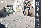 Naturalex COMFORT SPA | Therapy Memory Foam Mattress | 3ft Single 90 x