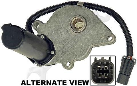 APDTY 711012 Transfer Case Four Wheel Drive Actuator aka 4WD 4x4 Transfer Case Encoder Shift Motor (Replaces GM 12474401, Isuzu 8124744010) by APDTY