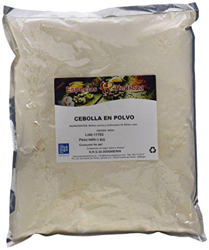 Especias Pedroza Cebolla En Polvo - Paquete de 5 x 1000 gr...