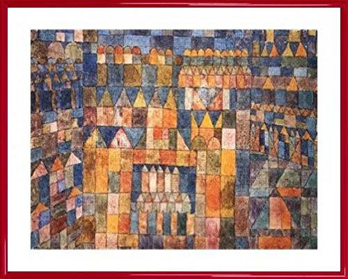 paul-klee-pster-impresin-artstica-con-marco-plstico-tempelvierter-von-pert-1928-50-x-40cm
