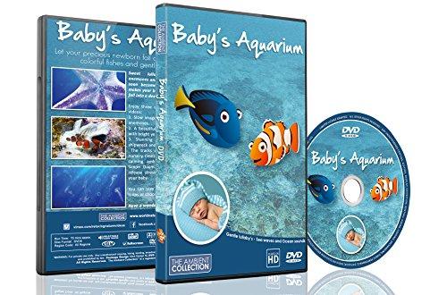 Schlaf DVD – Baby's Aquarium mit süßen Schlafliedern und Piano Musik – Schlaflieder für Schlafenszeit (Animierte Geist Bilder)