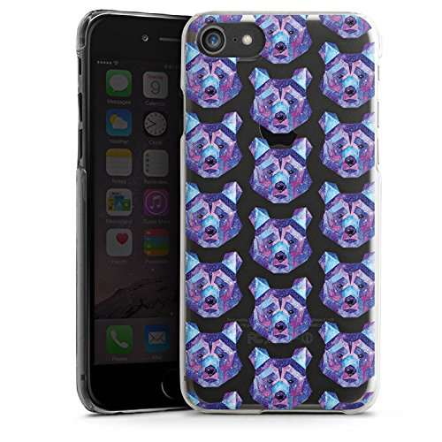 Apple iPhone X Silikon Hülle Case Schutzhülle Motiv ohne Hintergrund Bär Space Bear Hard Case transparent