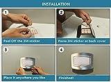 LingsFire® Wand Außenleuchte mit Bewegungsmelder Außenlampe Sensor Bewegungssensor Infrarot - 7