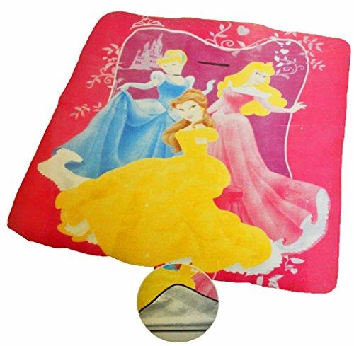 Disney Kinder Picknickdecke ca. 130x150cm mit Alu-Beschichtung vers. Motive (Prinzessinnen)