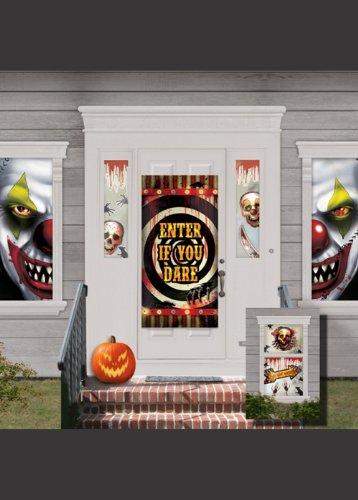 Halloween-gruselige Circus-Dekoration-Kit