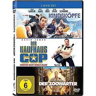 Kindsköpfe + Der Kaufhaus Cop + Der Zoowärter [3 DVDs] 3 Filme