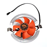 Storin™ High Quality PC CPU Cooler Cooling Fan Heatsink for Intel LGA775 1155 AMD AM2 AM3 754