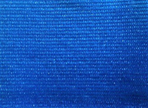 AGROFLOR filet brise vue pour le balcon ou la terrasse, avec bords renforcés et etœillets toutes les 50 cm, 100% résistant aux UV, couleur: bleu, Taille: 0,75 x 25 m