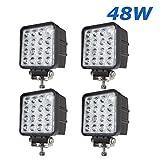 BRIGHTUM 48 W 4.3 Work Light 4560lm Arbeitsscheinwerfer LED als