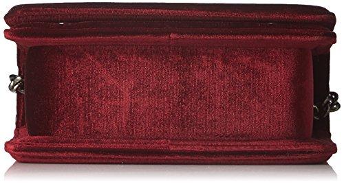 Morgan Damen 172-2cuapo.a Umhängetasche, 10x27x37 cm Rot (Prune)