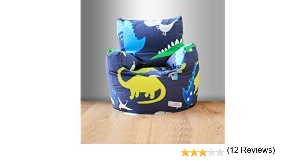 Childrens Filled Bean Chair Dinosaurs In The Dark Amazoncouk Kitchen Home