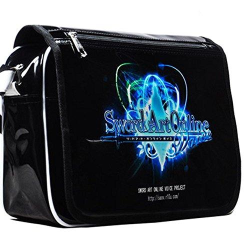 Dansuet Borsa Sword Art Online Cosplay nero Messenger, Messenger Bag Sword Art Online per Uomo