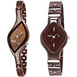 YOUTH CLUB Analog Girl's Watch (Brown Dial)