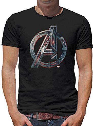 TLM Marvel - Avengers Age of Ultron T-Shirt Herren XXL (Kostüm Zu Iron Arbeiten Man)