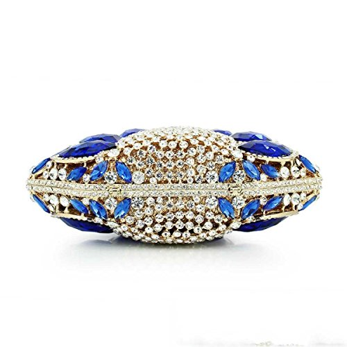 Frauen Kristall Abendtasche Diamant-Hochzeit Braut-Handtasche A