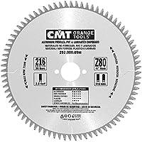CMT 297.080.09M hoja circular para portátil para materiales no ferrosos, plastici y truciolari (Serie Industrial), Gris