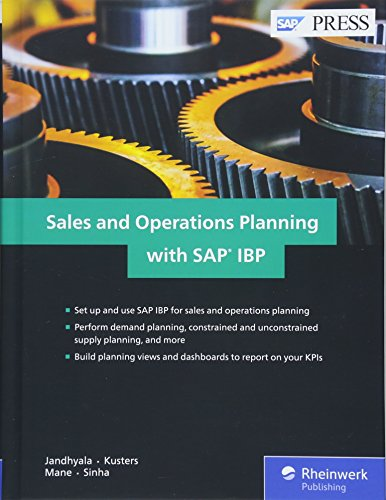 Sales and Operations Planning with SAP IBP (SAP PRESS: englisch)