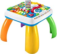 Fisher-Price Laugh & Learn Around the Town Learning Table, with 120+ songs, tunes D