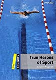 Dominoes, New Edition: Level 1: 400-Word Vocabulary True Heroes of Sport New edition by Fitzgerald, Donatella (2010) Paperback