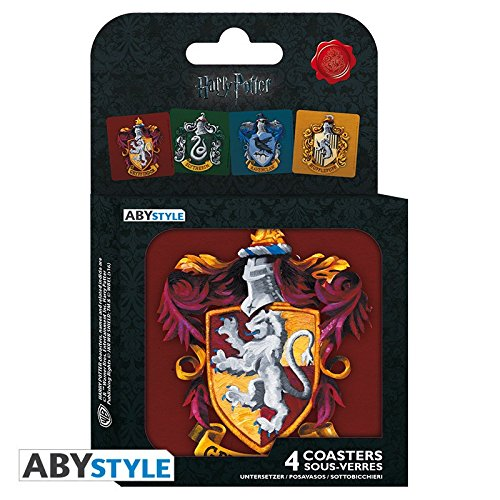 Harry-Potter-ABYCOS001-Coaster-Set-Pack-of-4