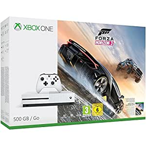 pack console xbox one s 500 go forza horizon 3 jeux vid o. Black Bedroom Furniture Sets. Home Design Ideas