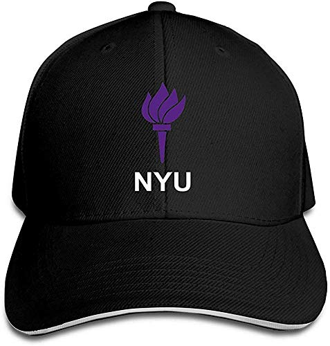 Wamnu YHuseki New York University Garden NYU Flag Flex Baseball Cap Ash Black Clemson University Baseball