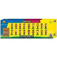 SoccerStarz - Estatuilla de los jugadores de Barcelona, los ganadores de agudos, 18 PC. (A)