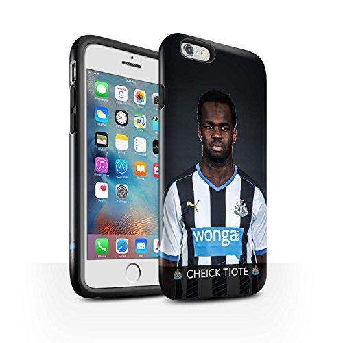 Officiel Newcastle United FC Coque / Brillant Robuste Antichoc Etui pour Apple iPhone 6+/Plus 5.5 / Elliot Design / NUFC Joueur Football 15/16 Collection Tioté