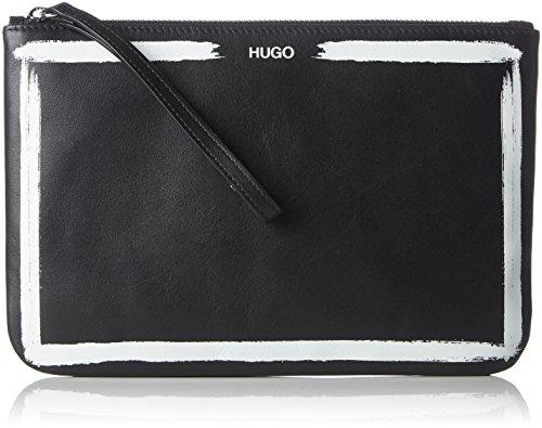 HUGO Mayfair Pouch-d, Organiseurs de sacs à main femme, Noir (Black), 1x16.5x25 cm (B x H T)
