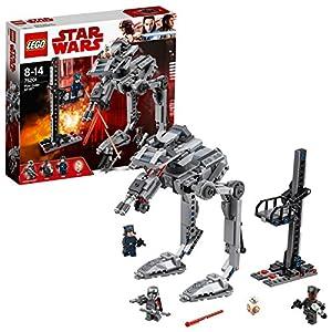 LEGO Star Wars- First Order AT-ST Lego Juego de Construcción, Multicolor, única (75201)