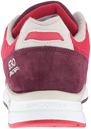New Balance M530raa, Chaussures Homme Red/Chocolate Cherry/Oyster