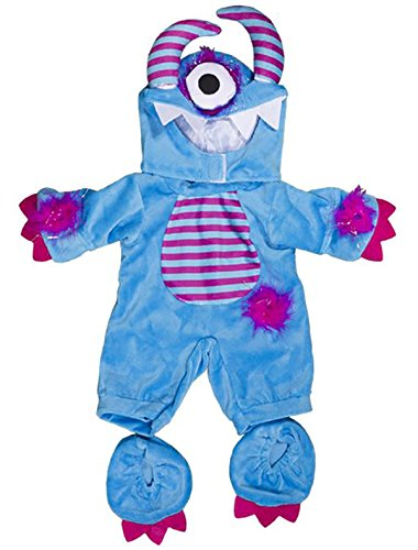 Monster Kostüm Fuzzy - Stuffems Toy Shop Ein mit Augen Monster-Kostüm-Teddybär-Kleidung paßt die meist 14