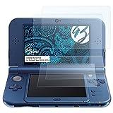 Bruni Schutzfolie für Nintendo New 3DS XL (2015) Folie - 2er Set glasklare Displayschutzfolie