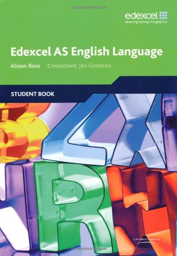 Edexcel AS English Language Student Book