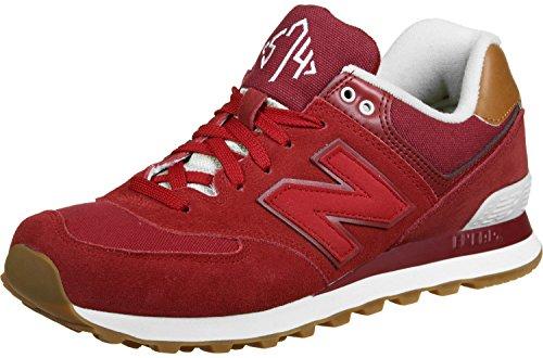 New Balance ML574 NEC Classic unisex sneaker trainer ML574NEC Rosso