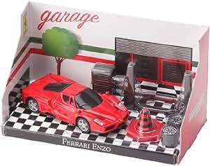 Bburago - 31100 - Vehicule Miniature - Ferrari Light & Sound - Ferrari Enzo Son V12 rouge - Échelle 1/43