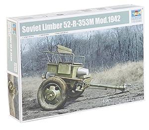 Trumpeter 02345-Maqueta de Soviet Limber de 52R de 353m Mod.1942, Gris