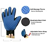 RIANZ Cleaning Hair Brush Comb Animal Massage Hair Removal Dog Grooming True Touch Shedding Brush Bath Gloves